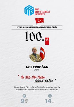 İstiklal Marşının TBMM'de Kabulünün 100.Yılı