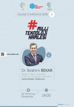 Dr.İbrahim BEKAR ile Online Konferans